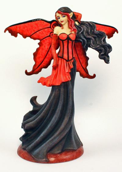 zAB37017 Goth Red