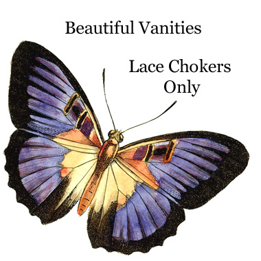 ZBV320 Beautiful Vanities Lace Chokers Only