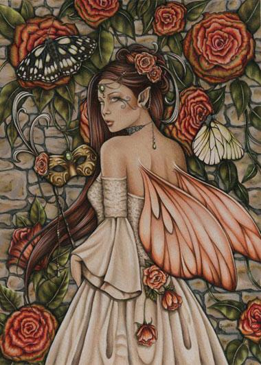 EA2820 Vintage Rose Journal