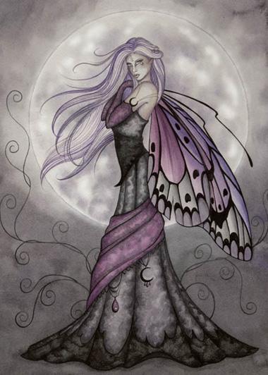EA2822 Silver Moon Fairy Journal