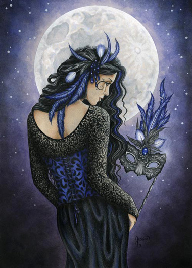 EAP3861 Moonlight Masquerade Print