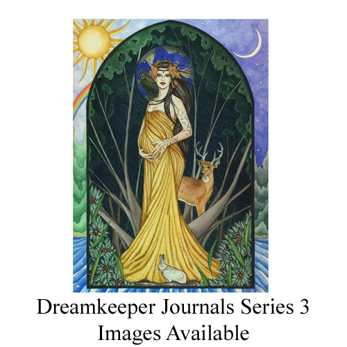 ZEA2802A Enchanted Art Journals Asst. 3