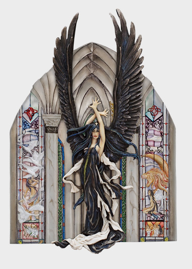 NT102 Faery of Ravens Plaque 2004