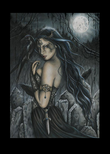 EAP3835 The Morrigan Matted Print
