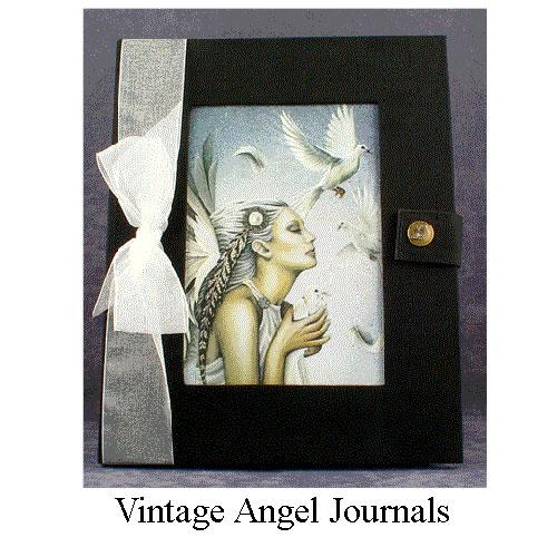 Vintage Angel Journals