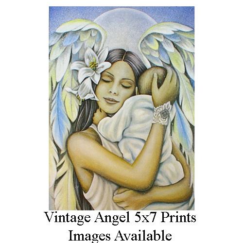 Vintage Angel 5 x 7 Prints