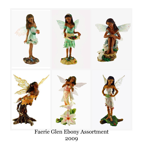 FG9884 Faerie Glen Ebony Assortment II Prepack